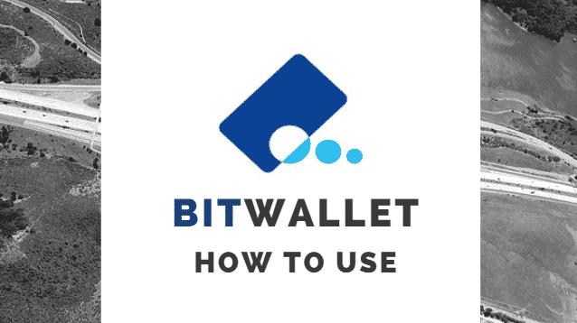bitwallet ビットウォレット 使い方