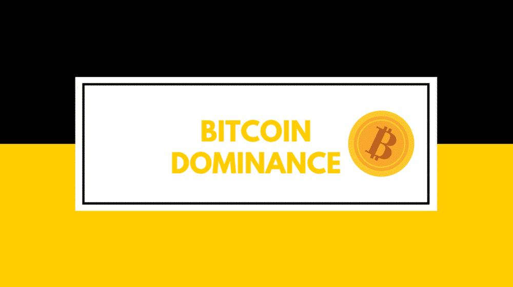 ビットコイン ドミナンス