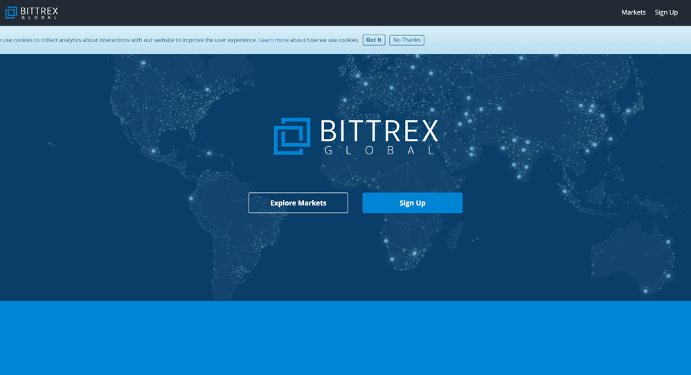 Bittrex Global The Next Generation Crypto Currency Exchange