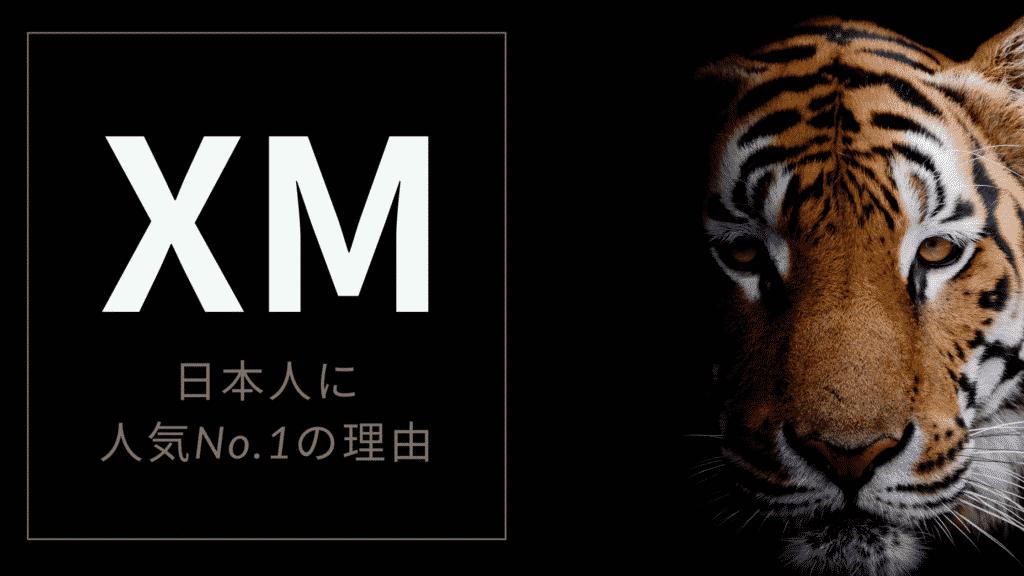 XMが日本人人気No.1の理由
